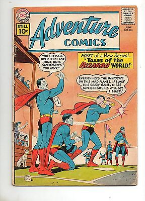 Adventure Comics #285 1ST TALES of the BIZARRO WORLD! VG- 3.5 1961 Superboy