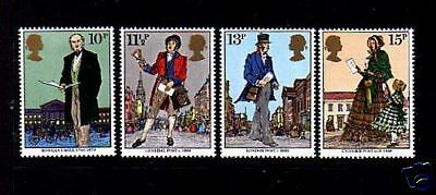 Great Britain - 1979 - Rowland Hill - London '80 -  Exhibition - Mint Mnh - Set!