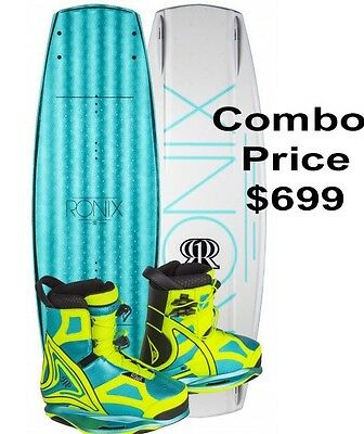 NEW 2017 RONIX LIMELIGHT Wakeboard Boot Size 8 US