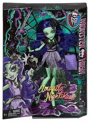Monster High Amanita Nita Nightshade Doll - CKP50 - New