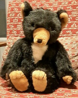 "Dean's Rag Book Co. Dark brown Bear 1970's Childsplay Made in Surrey. 20"" approx"