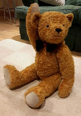 "Dean's""Sidney"" 31inch TALL &  HEAVY Limited Edition Bear 1999. He growls!"