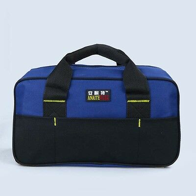 Multifunction Electrician Tool Bag Waterproof Strap Oxford Cloth Tools Pockets