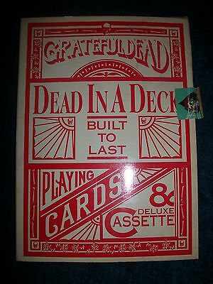 Dead in a Deck Built to Last Playing Cards & Deluxe Cassette + Garcia & Grisman