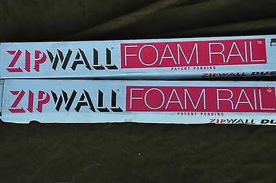 2 boxes ZipWall Dust Barrier System - FR2 Foam Rail Crossbars (total of four)