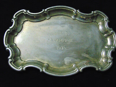 Vintage Horse trophy tray