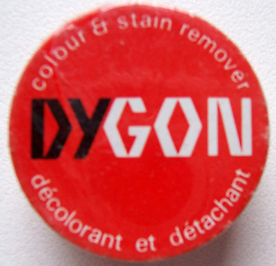 1 X Dygon Colour & Stain Remover New With Instructions