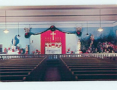 Unused Pre-1980 CHURCH SCENE Roanoke Virginia VA hs6773