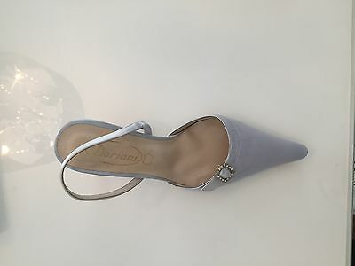 Doriani Bridal or Evening Shoes, New in Box, Light Blue, Size EU36