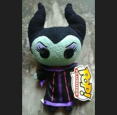 RARE Maleficent Disney villain Sleeping Beauty Pop! Funko plush toy