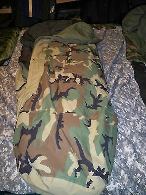 T  Military Goretex 4 Piece Sleeping Bag Modular Sleep System Us Army Part Mss