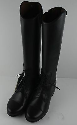 Ariat Heritage Field Boot Zip Riding Boots Height Med/Calf Slim Youth Sz 1