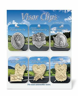 AngelStar Visor Clips Metal & Resin 36 assorted with Display