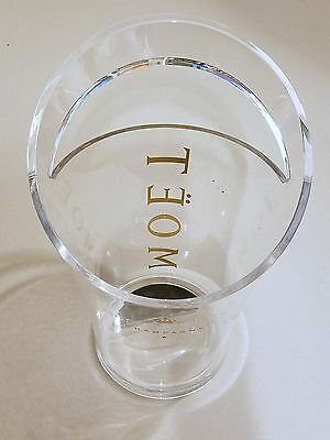 Moet & Chandon Champagne Ice Bucket (only) Clear Acrylic by Jean Marc Gady
