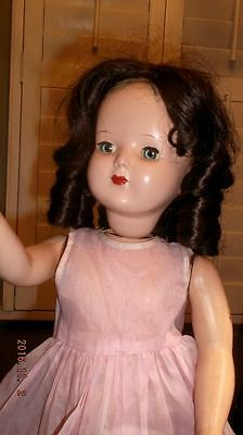 """Vintage 1950's Wanda the Walking Doll 18""""~lovely condition moves & walks Advance"""
