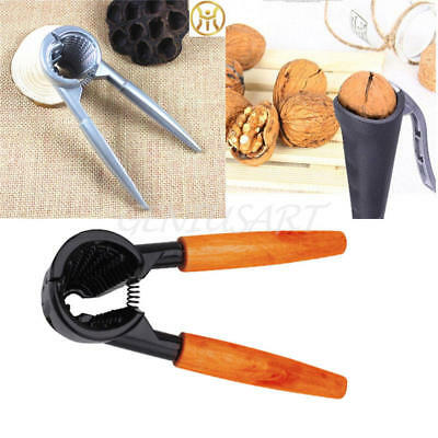 Nut Cracker Walnut Plier Nut Opener Metallic Black Easy Nutcracker Remover New