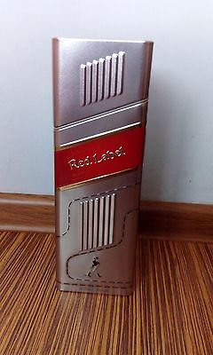 Johnnie Walker Red Label Scotch Whisky METAL BOX FOR COLLECTORS 700ML