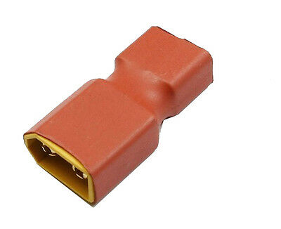 F05583 XT60 Male to T Dean Female Plug Conversion Connector For Battery & Charge