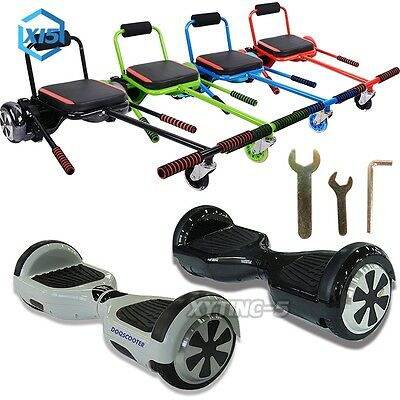 "6.5"" Fusion Electric Scooter Swegway Hover Board Self Balance Bluetooth Go Kart"