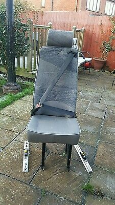 minibus Quick release  seats with clamps and track. Ideal camper conversion van