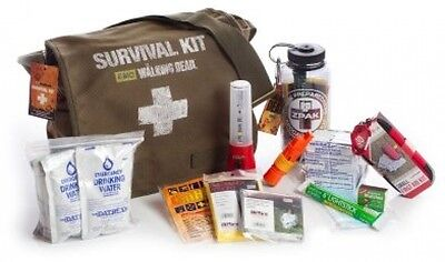 The Walking Dead Camping Emergency Zombie First Aid Survival Kit Pack Combo Case