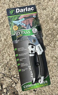 Darlac DP41 Compact Plus Bypass Pruners / Secateurs - Max Cut 20mm