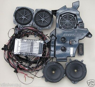 Oem Audi A3 8P Bose Complete Sound Systems With  Microphone 8P3035223 8E0035411A