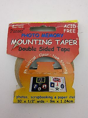 Pioneer Double Sided tape MMT9 Photo Memory Mounting Taper, 9m x 1.24cm
