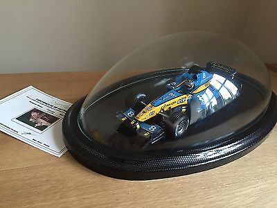 Fernando Alonso 1:18 Signed Model R24 2004 Certificate Of Authenticity