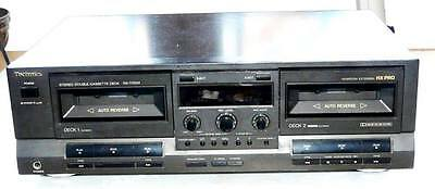 doppia piastra REGISTRATORE A CASSETTE SONY TC W 300 anni 90 double deck tapes