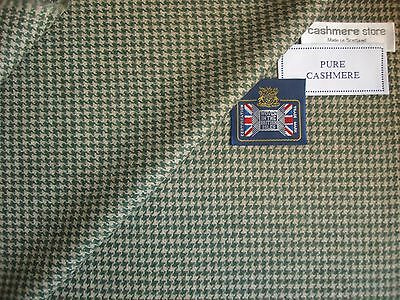 100% CASHMERE JACKETING/SUITING FABRIC - MADE IN SCOTLAND – 2.0 m.