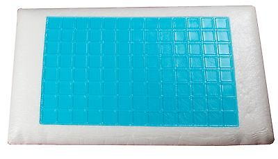Bodeytec p11 gel lined pillow with memory foam base