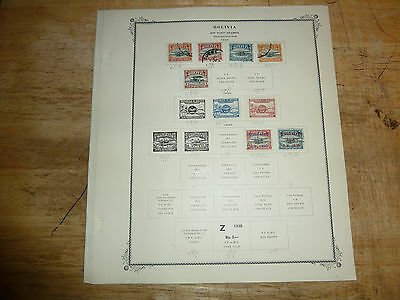 (1924-52) Near Complete BOLIVIA Air Post Collection mint and used stamps
