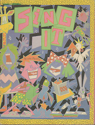SING IT - ABC Radio Songbook for Primary Schools 1987 Sheet Music Book