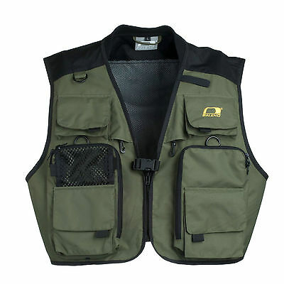 Baleno Bobbin fly fishing vest gilet waterproof breathable Size L Measured New