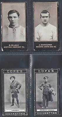 2 x COPES & 2 x SMITHS CARDS