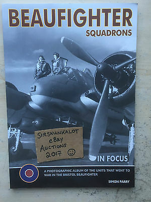 Beaufighter Squadrons In Focus - Simon Parry - Really Excellent Book