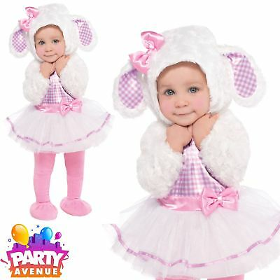 Little Lam Baby Costume Cute Easter Fancy Dress Toddler Outfit
