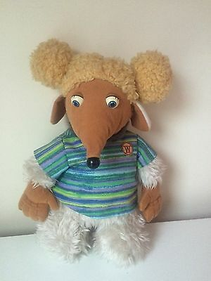 "Vintage Collectable ""Aldernay"" Womble Toy Plush First Love 1998"