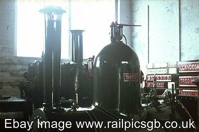 35mm Colour Slide of Narrow Gauge Steam Loco Dot in Towyn Museum