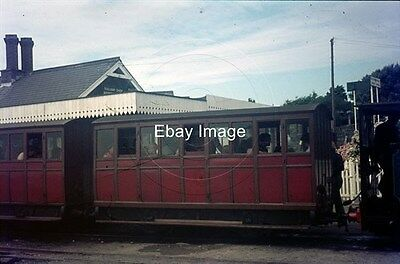 35mm Colour Slide of Talyllyn Railway Carriage No.2 at Tywyn Wharf Station 1972