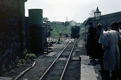35mm Colour Slide Of Talyllyn Railway Edward Thomas Arriving At Pendre 1963