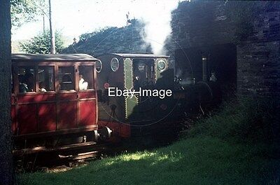 Railway 35mm Colour Slide of Talyllyn No.2 'Dolgoch' at Rhydyronen August 1972