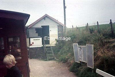 Two 35mm Colour Slides of Castle Caereinion WLLR Station in 1972