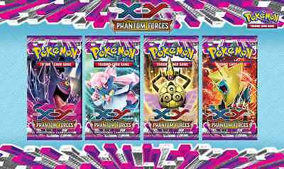XY Phantom Forces Booster Pack | Pokemon TCG | PHF | Brand New & Sealed