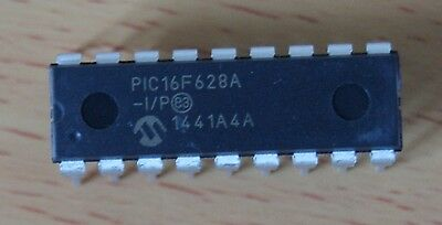 PIC16F628A FLASH-Based 8-Bit CMOS Microchip New