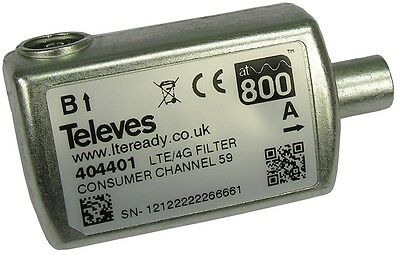 Televes Official at800 Approved 4G Filter LTE TV Aerial Filter