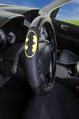 Warner Bros Batman Shattered Steering Wheel Cover Stylish Design Car Accessories