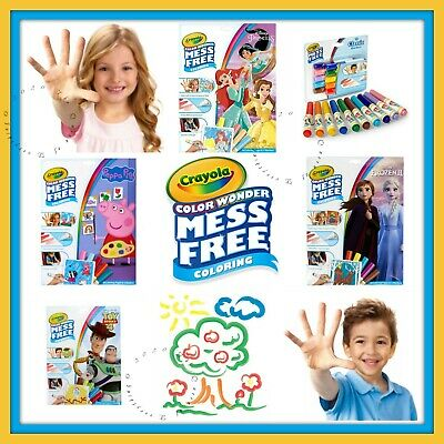 Crayola Color Wonder Activity Kit With Markers 12-18 pg 16 Characters--U Choose!