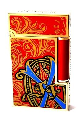 S.T. Dupont Feuerzeug 20th Anniversary Opus X Fuente Linie 2 rot Lighter